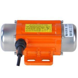 AC220V Single Phase 120W Aluminum Alloy Vibrating Vibrator Motor 3000rpm