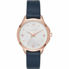 KARL LAGERFELD Women's 38mm Karoline Rose Gold Tone Leather Watch KL3013 NEW!