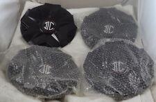 2 Crave Wheels Gloss Black Custom Wheel Center Cap Set 4 # C518702 New on Shelf!
