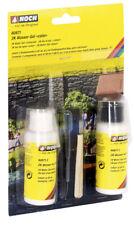 NOCH 60871 modell-wasser 2K Gel de l'eau COLOR 2 x 50 ml (100gr. NEUF