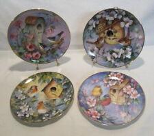 4 Royal Doulton Bird Plates Carolyn Shores Wright Bird Plates