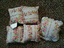 Barbie or same size Dolls pillows lot 3