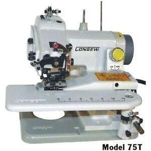Consew 75T Portable Blindstitch Hem Chain Stitch Sewing Machine