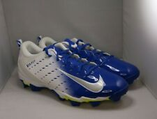 Nike Vapor Shark 3 Football Cleats Men's 13 White/blue Fast flex New