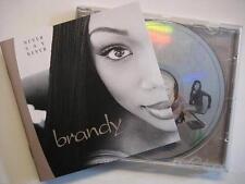 "BRANDY ""Never Say Never"" - CD"
