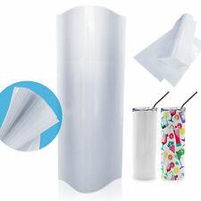 Usa 100pcs 15oz 20oz 30oz Skinny Tumbler Sublimation Heat Transfer Shrink Sleeve