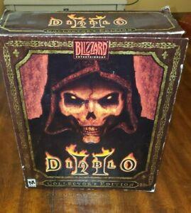 Diablo II 2 Collector's Edition (PC Windows, 2000) SEE Photos