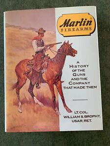 1989 Marlin Firearms History of Guns & Company Big Book HCDJ by Brophy