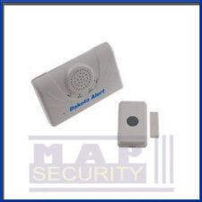 Dakota d'alerte de Bell porte sans fil système d'alarme gamme 700metre dcma2500pb uk stock!