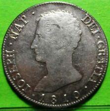 JOSE NAPOLEON, 20 Reales,1810, MADRID -AI, MBC+/EBC-, Ag.