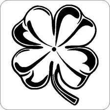Glück s Kleeblatt Auto Aufkleber Tattoo Sticker