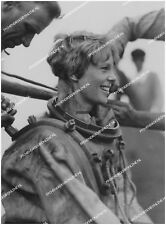 "AMELIA EARHART - LARGE ORIGINAL PHOTO FROM AGENCY NEGATIVE 8""x12"" 1/8"
