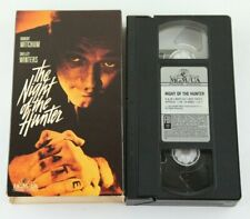 The Night Of The Hunter Vhs Robert Mitchum Shelley Winters Mgm 1955