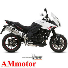 Mivv Triumph Tiger 1050 Sport 2014 14 Scarico Marmitta Speed Edge Moto