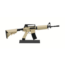 Miniature FDE AR-15 Toy Gun, 1/3 Scale Non-firing Toy