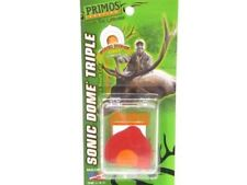 Primos Sonic Dome Series Triple Reed Elk Sounds Hunting Mouth Call 1643