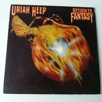 Uriah Heep - Return to Fantasy - Vinyl LP UK 1st Press A-1/B-1 Bronze