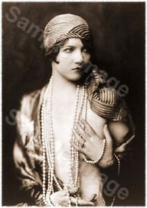 Vintage 121 1920's Erotic Female Nude Sepia Retro Art PHOTO REPRINT A4 A3 or A2