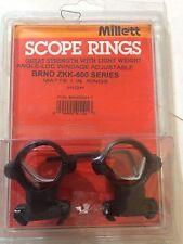 """Millett for BRNO ZKK-600Millett rings matte 1"""" high"""