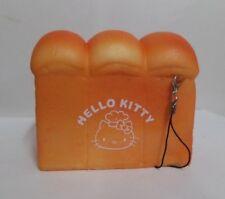 Kawaii Jumbo Size Hello Kitty Sweets Cafe Toast Squishy Scented