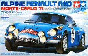 Tamiya 24278 1/24 Scale Model Car Kit Renault Alpine A110 '71 Monto Carlo Rally