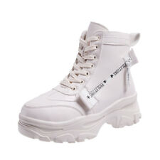 Increase Women's Winter Sneakers with Fur Boots Chunky Platform High Heel Shoes