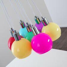 Lampe à suspension Design Plafonnier multicolore Lustre Lampe de séjour 142412