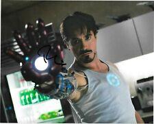 Robert Downey Jr Signed Autograph IRONMAN AVENGERS MARVEL 8X10 Photo COA