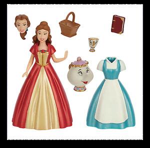 *** Genuine Disney  *** Belle Figure Fashion Set - Beauty and the Beast
