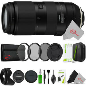 Tamron 100-400mm f/4.5-6.3 Di VC USD Lens for Canon EF Professional Cleaning Kit