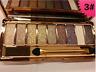 Diamond Eye Shadow Palette & Makeup Brush Professional 9 Colours Cosmetic Kit UK