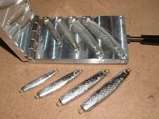 Saltwater Herring jig mold 2,4,6,8oz CNC Aluminum