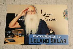 ORIGINAL Autogramm von Leland Sklar. pers. gesammelt auf 20x30 FOTO. 100 % ECHT