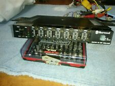 New listing Sherwood Eqa 280, Vintage Car graphic equalizer booster with brackets
