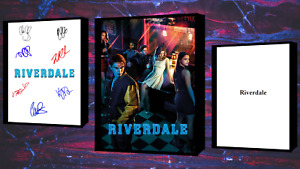 Riverdale Script/Screenplay Movie Poster Autograph Signed Print