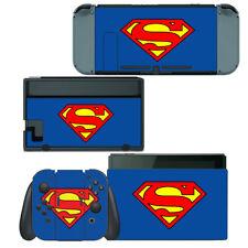 Nintendo Switch Skin Decal Sticker Vinyl Wrap - Superman Super Hero