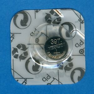 397 ( 396 ) SR726SW V397 D397 SR59 1.55V Silver Oxide Watch Battery Rayovac
