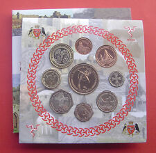 Isle of man 2002 Penny - 5 Pounds 9 Coins Mint Set