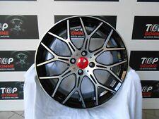 """04 Cerchi 17 X FIAT 500 Abarth  ss 595 695  Made in Italy """"Esclusivi""""BLACK DIAMA"""