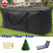 More details for extra large waterproof heavy duty outdoor garden furniture cushion storage bag