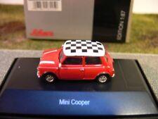 1/87 Schuco Mini Cooper rot mit kariertem Dach 45 261 6000