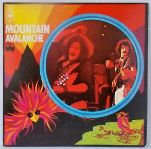 Mountain  - Avalanche 1974 LP - S80492. (A1/B1)