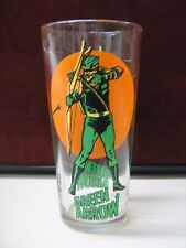 1976 Green Arrow Pepsi Super Series Glass National Periodical