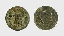 s529_100)  Swiss Cantons   TICINO 3 Soldi 1838