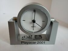 Dish Network Weather Channel Advertising Desk Clock New (Tested) Playacar 2001