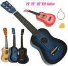 """21"""" 23"""" 25"""" Inch Kid Children Guitar With Strings Pick Musical Beginner Toy Gift"""