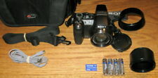 Sony Cyber-shot DSC-H5 7.2MP 12x Optical Zoom Lens Black UVGC Guarantee Bundle