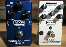 MXR M288 Bass Octave Deluxe und M87 Bass Compressor Effektgeräte