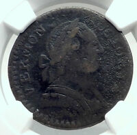 1788 US post Colonial PRE-FEDERAL VERMONT Penny Antique Coin LIBERTY NGC i79708
