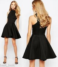 Oh My Love at Topshop Skater Dress in Black Size XXS to Large